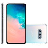 Smartphone Samsung Galaxy S10e, 128GB, 4G, Câmera Dupla 12MP+16MP, Branco -G970F