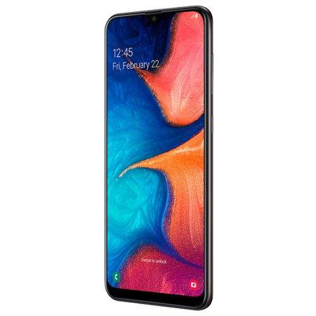 Smartphone Samsung Galaxy A20, 32GB, 13MP + 5MP, 4G, Dual Chip, Preto - A205G