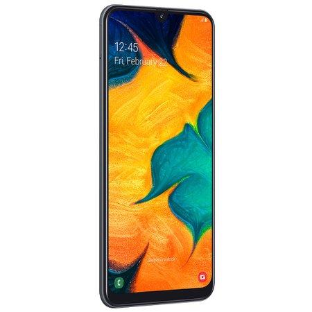 Smartphone Samsung Galaxy A30, 64 GB, 16MP + 5MP, 4G, Dual Chip, Preto - A305G