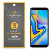 Película de Vidro para Celular Samsung J6 Plus - X-Accessories