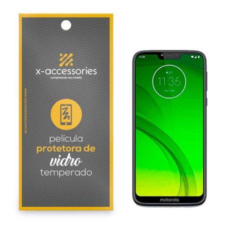 Película de Vidro para Celular Moto G7 Play - X-Accessories