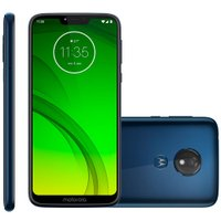 Smartphone Motorola Moto G7 Power, 64GB, 12MP, 4G, Dual Chip, Azul Navy - XT1955