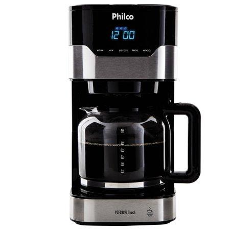 Cafeteira Philco Touch, 1,5 Litros, Painel Digital, 800W - PCFD38PL