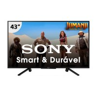 Smart TV LED 43'' Sony, 2 HDMI, 2 USB, com Wi-Fi - KDL-43W665F