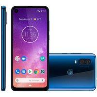 Smartphone Motorola One Vision, 128GB, 4G, 48MP + 5MP, Azul Safira - XT1970
