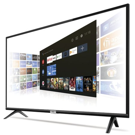 Smart TV Android LED Full HD 43'' TCL, 2 HDMI, Wi-Fi, Bluetooth - 43S6500FS