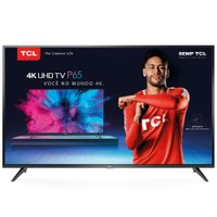 Smart TV Ultra HD LED 55'' TCL, 4K, 3 HDMI, 2 USB, Wi-Fi - 55P65US