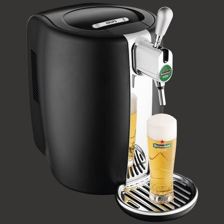 Chopeira Beertender Krups Heineken, 5 Litros, Preta - B101