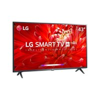 Smart TV LED 43'' LG Full HD, 3 HDMI, 2 USB, Wi-Fi - 43LM6300