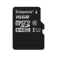 Cartao de Memoria MicroSD 16GB Kingston