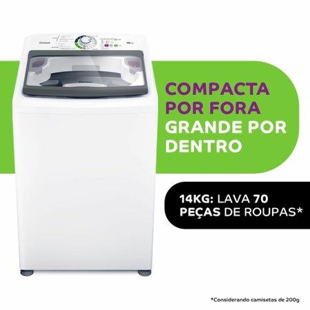 Lavadora de Roupas Consul 14Kg, Automática, Branca - CWH14AB