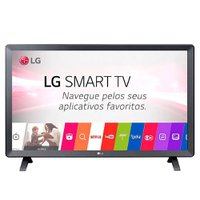 Smart TV LED 23,6'' LG, Wi-Fi, 2 HDMI, USB - 24TL52