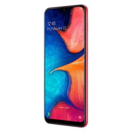 Smartphone Samsung Galaxy A20 Vermelho