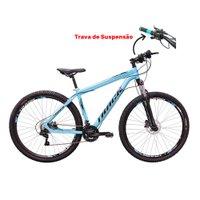 Bicicleta Track Bikes, Aro 29, Trivo 29B, Cambio Shimano, Quadro Alumínio, Azul