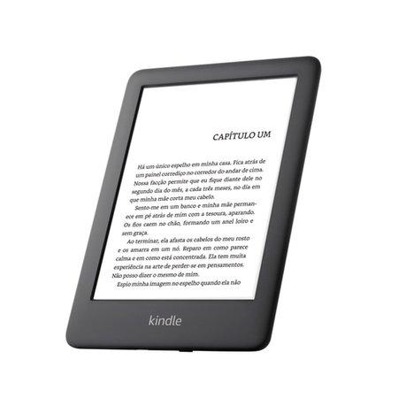 Kindle 10ª Geração com Iluminação e Wi-Fi, Preto - AO0740