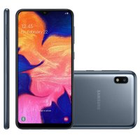 Smartphone Samsung Galaxy A10, 13MP, 32GB, 4G, Dual Chip, Preto - A105M