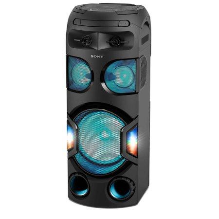 Mini System Sony Torre, Karaoke, Bluetooth, Som 360º - MHC-V72D