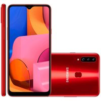Smartphone Samsung Galaxy A20S, 32GB, 4G, Dual Chip, Vermelho - A207M