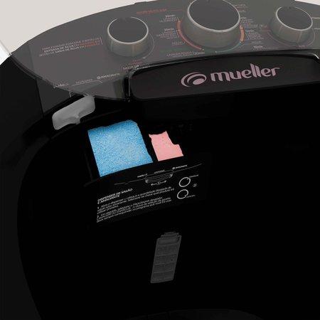 Lavadora de Roupas Mueller Big 16Kg, Semi-Automatica, Preto
