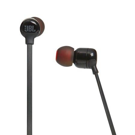 Fone de Ouvido JBL In Ear, Preto, Bluetooth - T110BTBLK