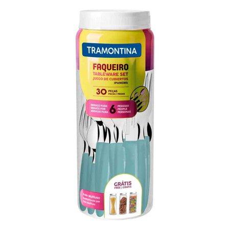 Faqueiro Ipanema Tramontina, 30 Pecas - 23398/288