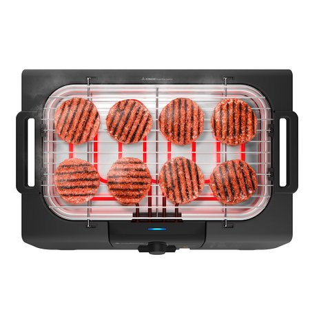 Churrasqueira Elétrica Cadence Grill Menu - GRL810
