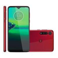 Smartphone Motorola Moto G8 Play, 32GB, 4G, Câmera Tripla, Vermelho - XT2015