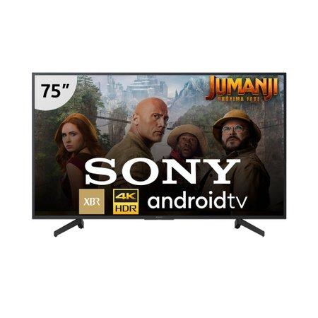 Smart TV Ultra HD LED 75'' Sony 4K, 3 USB, 4 HDMI - XBR-75X805G