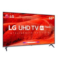 Smart TV Ultra HD LED 65 LG, 4K, 4 HDMI, 2 USB - 65UM7520PSB