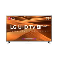 Smart TV Ultra HD LED 75 LG, 4K, 4 HDMI, 2 USB - 75UM7510PSB