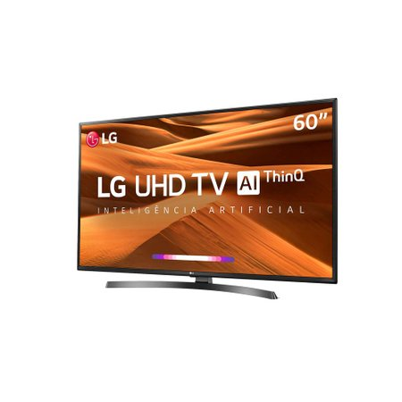 Smart TV Ultra HD LED 60 LG, 4K, 3 HDMI, 2 USB - 60UM7270PSA