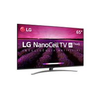 Smart TV Ultra HD LED 65 LG, 4K, Nano, 4 HDMI, 3 USB com WI-Fi - 65M8100PSA