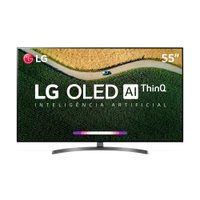 Smart TV OLED 55 LG, 4K, 4 HDMI, 3 USB, ThinQ AI - OLED55B9PSB