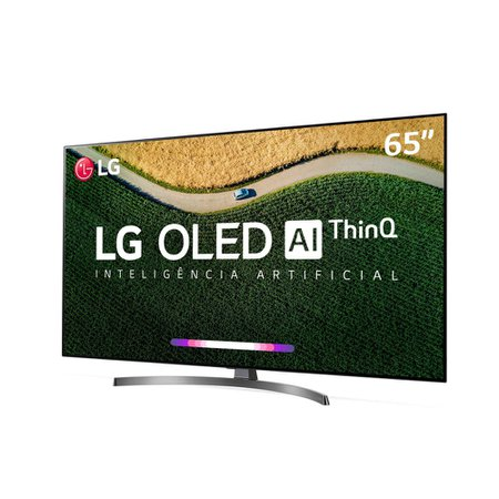 Smart TV OLED 65 LG, 4K, 4 HDMI, 3 USB, ThinQ AI - OLED65B9PSB