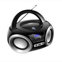 Caixa de Som Boombox Lenooxx, com Bluetooth, CD, USB - BD1370