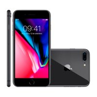 iPhone 8 Plus Apple, 128GB, 12MP, 4G, iOS 11, Cinza Espacial