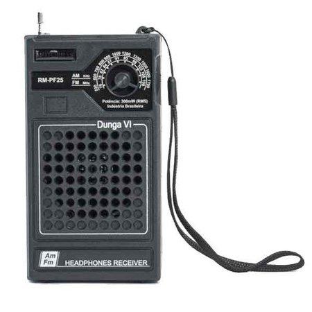 Radio Portatil Motobras Dunga AM/FM 300W RMS - RM-PF25