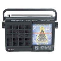 Radio Portatil Motobras FM/AM/OC 7 Faixas Aparecida - RM-PFT74AC
