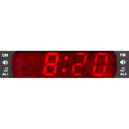 Radio Relogio Motobras AM/FM Digital - RM-RRD22