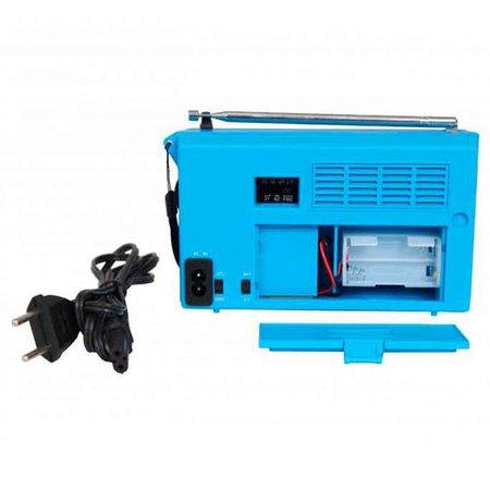 Radio Portatil Motobras, 7 Faixas, FM/AM/OC, Azul - RM-PSMP71/AC