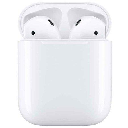 Fone de Ouvido Apple AirPods com Estojo para Recarga, Branco