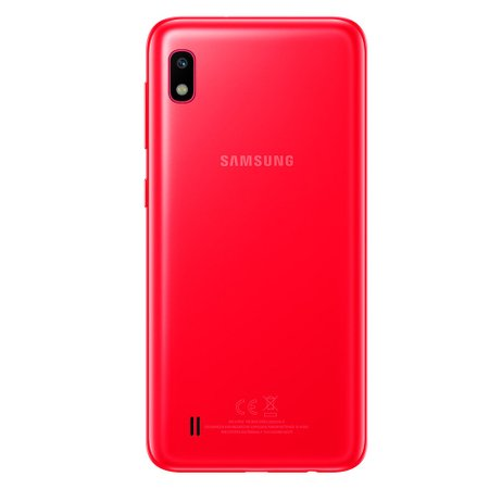 Smartphone Samsung Galaxy A10, 32GB, 13MP, 4G, Dual Chip, Vermelho - A105M