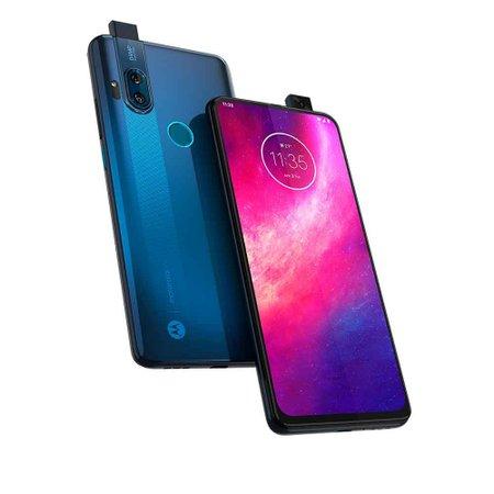 Smartphone Motorola One Hyper, 128GB, 64MP, Dual Chip, Azul - XT2027