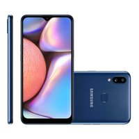 Smartphone Samsung Galaxy A10S, 13MP + 2MP, 32GB, Dual Chip, Azul - A107M