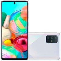 Smartphone Samsung Galaxy A71, 128GB, 4G, Quad Camera, Prata - A715F