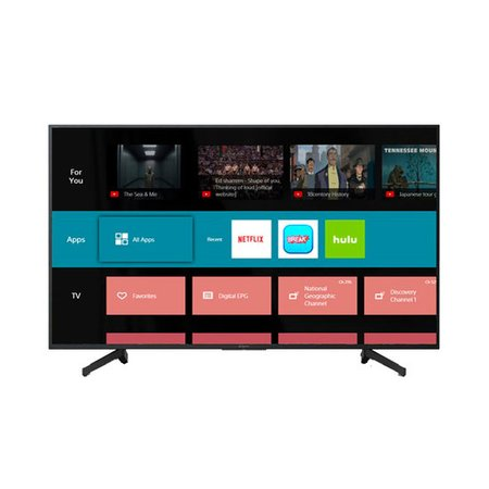 Smart TV LED 65 Sony 4K, 3 USB, 3 HDMI, com Wi-Fi - KD-65X705G
