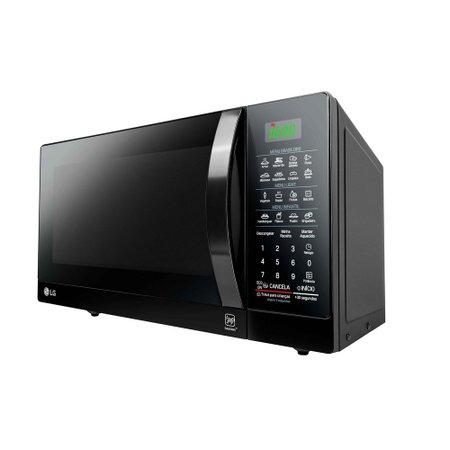 Forno Micro-ondas LG, 30 Litros, EasyClean, Preto - MS3097AR