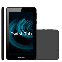 Tablet Positivo 7, 16GB, Quad-Core, Preto - T770B
