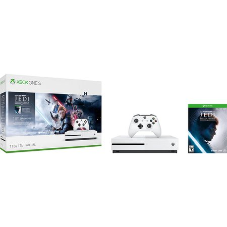 Console X-box One S 1TB + Jogo Star Wars