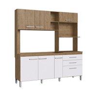 Cozinha Compacta Decibal, 6 Portas, 2 Gavetas - CO1631